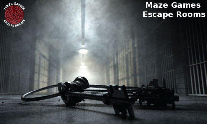 8€ από 18€ για είσοδο 1 ατόμου σε 1 παιχνίδι απόδρασης διάρκειας 60', στο Maze Games Escape Rooms στην Κηφισιά