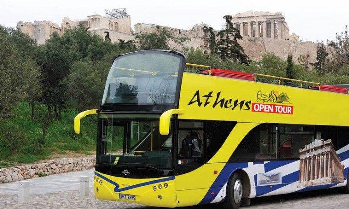 24ωρα εισιτήρια για ξενάγηση με ανοιχτό λεωφορείο σε Αθήνα, Πειραιά & Γλυφάδα από 8€ για 2 παιδιά ή 8,5€ για 1 ενήλικα