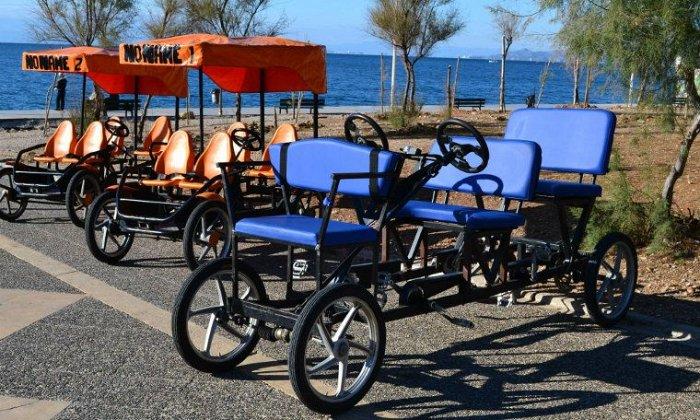 Από 4€ για ενοικίαση ποδηλάτου ή 3τροχου ηλεκτρικού ή βόλτα με 15θέσιο Ποδήλατο-Bar, στο Ίδρυμα Σταύρου Νιάρχου εικόνα