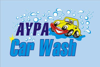 Αύρα Car Wash logo