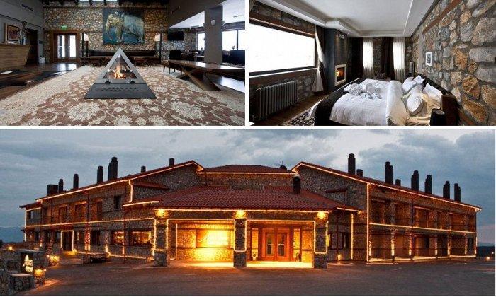 Χριστούγεννα και Πρωτοχρονιά και Θεοφάνεια από 275€ ανά διανυκτέρευση με Πρωινό για 2 ενήλικες (και 1 παιδί έως 3 ετών) Ισχύει από 22/12 έως 7/01 και για Χριστούγεννα και Πρωτοχρονιά και Θεοφάνεια στο 4* Miramonte Chalet Hotel Spa