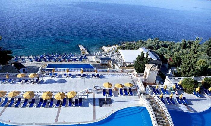 Προσφορά από 530€ για 5 διανυκτερεύσεις με ALL INCLUSIVE για 2 ενήλικες και 1 παιδί έως 12 ετών Ισχύει από 1/09 έως 15/10 στο 4* Sunshine Corfu Hotel & Spa