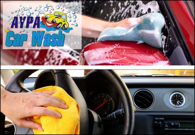 """11,90€για 10 υπηρεσίες (!!!) πλήρη καθαρισμού αυτοκινήτου, που περιλαμβάνουν καθαρισμό καμπίνας με Όζον και εξωτερικόΚέρωμα με Teflon,από το """"Αύρα Car Wash"""" στη Νέα Φιλαδέλφεια, αξίας 35€ - έκπτωση 66%"""