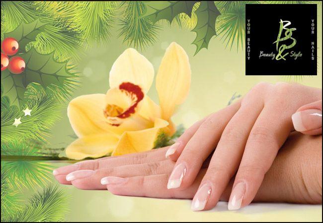 12€για (1) manicure απλό ή γαλλικό με ημιμόνιμη ή απλή βαφή, (1) λούσιμο και (1) χτένισμα απλό ή βραδινό (ισχύει και την περίοδο των εορτών!) από το Beauty & Style στην Καλλιθέα, αξίας 40€ - έκπτωση 70%