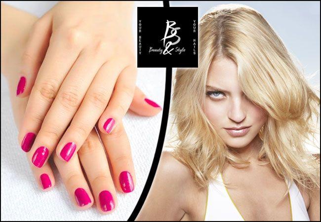 12€για (1) ημιμόνιμο manicure απλό ή γαλλικό, (1) λούσιμο, (1) χτένισμα, (1) αποτρίχωση σε άνω χείλος και (1) σχηματισμό φρυδιών, από το Beauty & Style στην Καλλιθέα, αξίας 40€ - έκπτωση 70% εικόνα