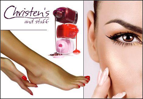 15€για 1 manicure (απλό ή γαλλικό), 1 pedicure (απλό ή γαλλικό) και 1 σχηματισμό φρυδιών, από το Hair & Nail Spa by Christen's στη Γλυφάδα, αξίας 43€ - έκπτωση 65%