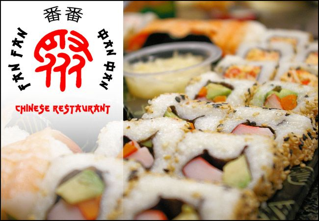 Sushi για Δύο! 17€ για ένα υπερπλήρες Ιαπωνικό μενού 2 ατόμων που περιλαμβάνει 2 σούπες, 24 (!!!) sushi rolls και 4 nigiri/sashimi, στο Εστιατόριο Κινέζικης και Ιαπωνικής κουζίνας Fan Fan στην Ηλιούπολη. εικόνα