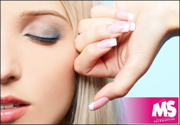 Τοποθέτηση ή συντήρηση τεχνητών νυχιών με gel ή ακρυλικό, manicure με βαφή, λούσιμο, μάσκα και χτένισμα, από το κομμωτήριο MS Hair & Beauty Spa στο Παλαιό Φάληρο εικόνα