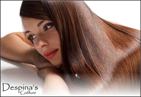 69€για (1) βιολογική ισιωτική θεραπεία μαλλιών Brazilian Keratin εγκεκριμένη από τον ΕΟΦ και (1) χτένισμα για όλα τα μήκη μαλλιών, από το Despina's Coiffure σε Πεύκη ή Λυκόβρυση, αξίας 300€ - έκπτωση 77%