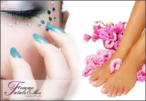 6€για 1 manicure (απλό ή γαλλικό) ή 1 pedicure (απλό ή γαλλικό) με προϊόντα Essie, από το Femme Fatale στον Άλιμο, αξίας 17€ - έκπτωση 65%12€για 1 manicure (απλό ή γαλλικό) και ημιμόνιμη βαφή Shellac διάρκειας 3 εβδομάδων
