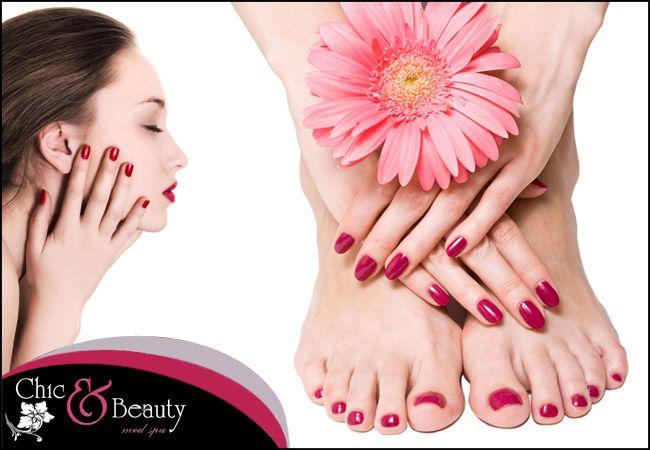 7€ για ένα manicure ή 8€ για ένα ημιμόνιμο manicure ή 8€ για ένα pedicure (απλά ή γαλλικά), από το Chic and Beauty Nails στο Περιστέρι