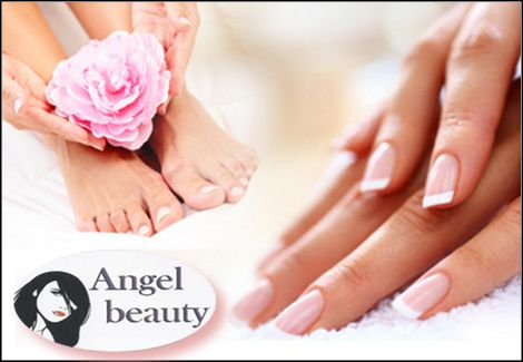 1 manicure (απλό ή γαλλικό) και 1 pedicure (απλό ή γαλλικό),από το Angel Beauty στον Αγ. Δημήτριο! εικόνα