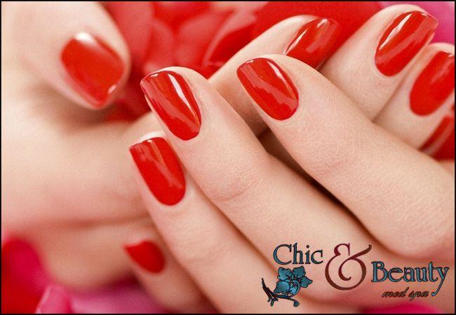Hμιμόνιμο manicure εικόνα