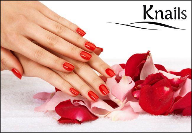 9€ για 1 ημιμόνιμο manicure με επώνυμα προϊόντα, απλό ή γαλλικό, από το Knails στην Αγία Παρασκευή, αξίας 25€ - έκπτωση 64% εικόνα