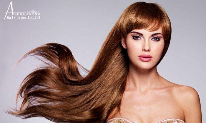 25€ για 1 θεραπεία Smoothing Brazilian Keratin, για ολόισια και υγιή μαλλιά έως και 4 μήνες από το Alexandros Coiffure στο Νέο Ηράκλειο εικόνα