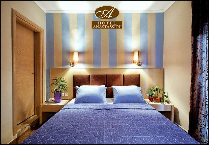 Προσφορά από 69€ για 2 διανυκτερεύσεις με πρωινό για 2 ενήλικες και 1 παιδί έως 6 ετών στο Anastassiou Hotel εικόνα