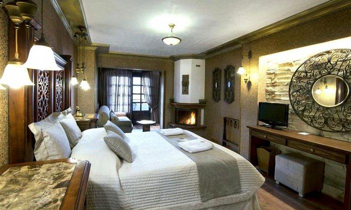 Προσφορά από 62€ ανά διανυκτέρευση (Κυρ.-Πέμ.) με πρωινό για 2 ενήλικες και 1 παιδί έως 5 ετών στο Aroma Dryos Eco & Design Hotel εικόνα