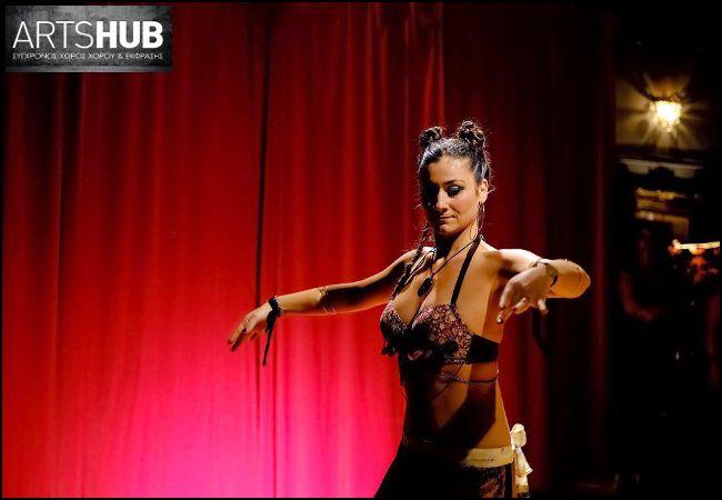 """17€ για 8 ώρες Tribal Fusion Belly Dance διάρκειας 1 μήνα, για να γνωρίστε το σώμα σας, στη σχολή """"ArtsHub"""" στο Μετρό Δάφνης"""