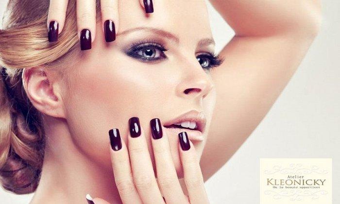 9€ για πλήρες 1 ημιμόνιμο manicure, 1 πλήρες pedicure, 1 λούσιμο και 1 χτένισμα