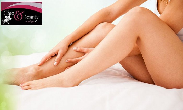 """59€ για 1 συνεδρία αποτρίχωσης σε full πόδια και bikini για γυναίκες ή full πλάτη για άνδρες, από το """"Chic and Beauty Med Spa"""" στο Περιστέρι"""