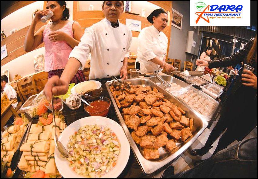 Ταϊλανδέζικη Κουζίνα All You Can Eat! Επιλέξτε ελεύθερα από τον μπουφέ όσο φαγητό επιθυμείτε με12€ ανά άτομο, στο εστιατόριο με την αυθεντική Ταϊλανδέζικη κουζίνα