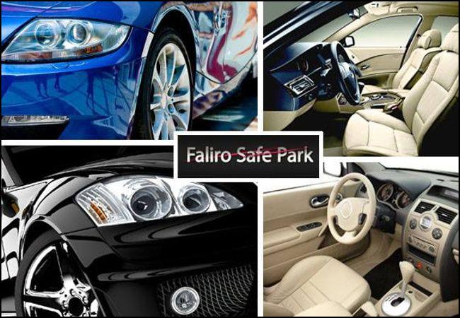 19€ για 1 βιολογικό καθαρισμό σαλονιού αυτοκινήτου ή 39€ για 1 πλήρη βιολογικό καθαρισμό αυτοκινήτου, στο Faliro Safe Park στο Παλαιό Φάληρο