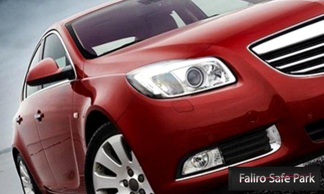 14€ για ένα ξεθάμπωμα των φαναριών του αυτοκινήτου που επαναφέρει τη σωστή ορατότητα στην οδήγηση, στο Faliro Safe Park στο Παλαιό Φάληρο εικόνα