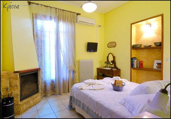 Προσφορά από 70€ ανά διανυκτέρευση με Ημιδιατροφή για 2 ενήλικες και 1 παιδί έως 5 ετών στο Gastronomy Hotel Kritsa εικόνα