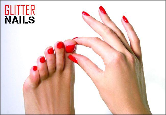 """Ημιμόνιμο spa manicure με ΔΩΡΟ τα σχέδια ή φυσική ενίσχυση στο """"Glitter Nails"""" στους Αγίους Αναργύρους"""