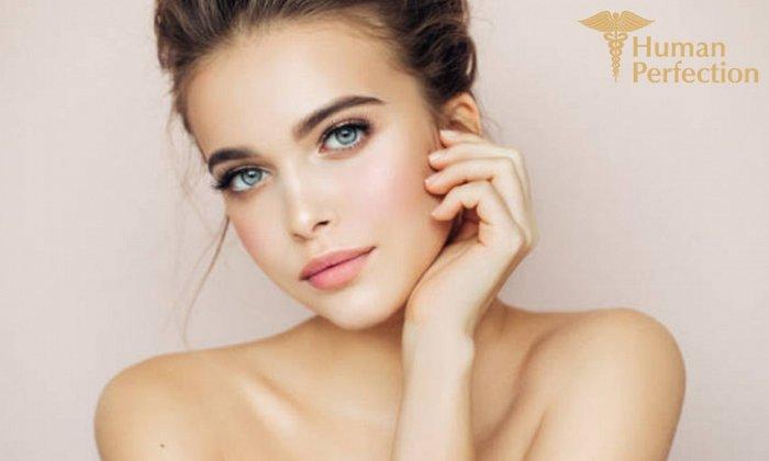 249€ για (1) Botox Allergan full face, 1 υαλουρονικό οξύ filler 1 ml και 1 αυτόλογη μεσοθεραπεία (PRP), από τα Human Perfection