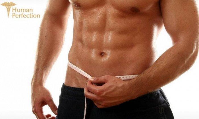 25€ για 6 συνεδρίες τοπικής απώλειας βάρους, αποκλειστικά για άνδρες με το Trio I-Shape, από το