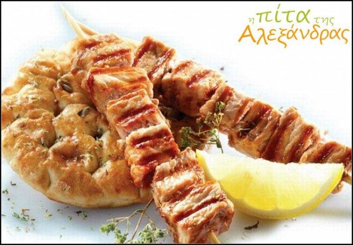 """5€ για ένα γεύμα 2 ατόμων με ελεύθερη επιλογή από τον κατάλογο φαγητού, στο ψητοπωλείο """"Η πίτα της Αλεξάνδρας"""" στους Αμπελόκηπους"""