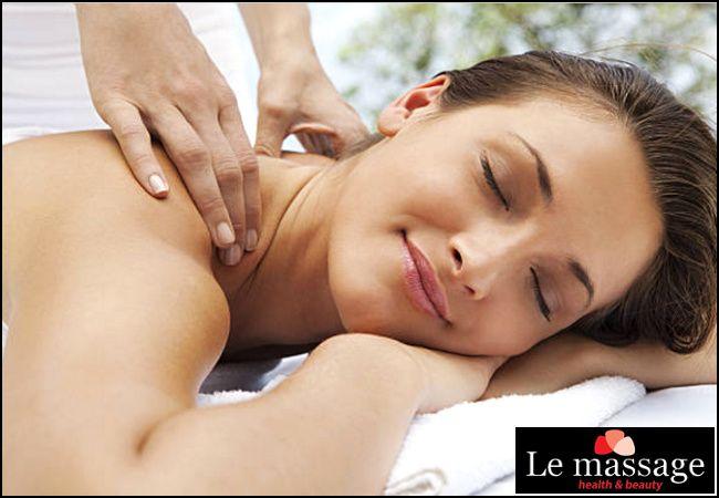 6€ για ένα ολόσωμο χαλαρωτικό μασάζ διάρκειας 45', από το Le Massage στον Πειραιά