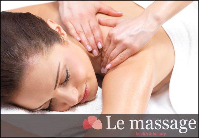 6€ για ένα ολόσωμο χαλαρωτικό μασάζ διάρκειας 45', από το Le Massage στο Χολαργό εικόνα
