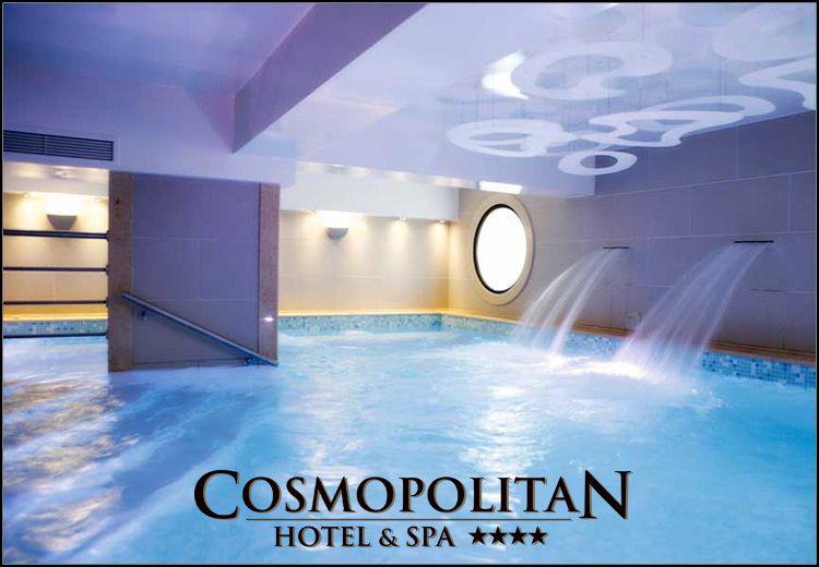 Χριστούγεννα - Θεοφάνεια στην Παραλία Κατερίνης στο 4* Cosmopolitan Hotel & Spa με 100€ ανά διανυκτέρευση με Ημιδιατροφή σε δίκλινο δωμάτιο για 2 ενήλικες και 1 παιδί έως 12 ετών! Προσφέρεται Εορταστικό Ρεβεγιόν Παραμονή Χριστουγέννων με μενού σερβιριστό και ζωντανή μουσική! Ελεύθερη πρόσβαση στο χώρο του SPA που περιλαμβάνει εσωτερική θερμαινόμενη Πισίνα, Σάουνα, Χαμάμ και Γυμναστήριο καθώς και 25% έκπτωση σε θεραπείες μασάζ! Η προσφορά ισχύει για διαμονή από 22 έως 29 Δεκεμβρίου & από 2 έως 7 Ιανουαρίου εικόνα