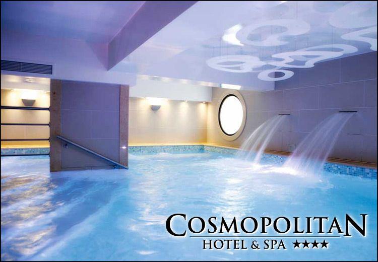 Παραλία Κατερίνης 4* Cosmopolitan Hotel & Spa!119€ για 2 διανυκτερεύσεις ή 162€ για 3 διανυκτερεύσεις με πρωινόγια 2 ενήλικες και 1 παιδί έως 12 ετών σε δίκλινο δωμάτιο με δωρεάν χρήση των εγκαταστάσεων του SPA (εσωτερική πισίνα, σάουνα, χαμάμ, γυμναστήριο), έκπτωση 25% στις υπηρεσίες ομορφιάς (θεραπείες προσώπου - σώματος και μασάζ) και early check in καιlate check out! εικόνα