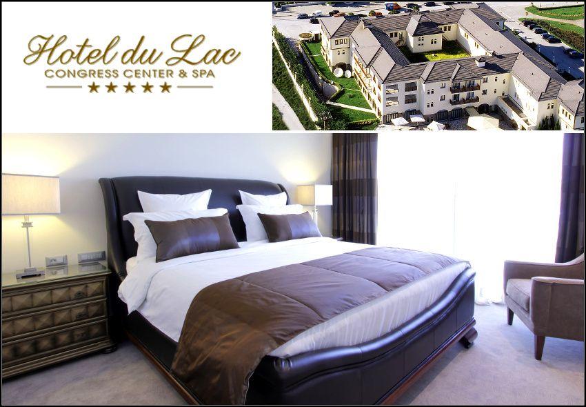 Θεοφάνεια στα Ιωάννινα στο 5* Du Lac Hotel Congress Center & Spa με 254€ για 3 ημέρες - 2 διανυκτερεύσεις με Ημιδιατροφή (πρωινό και δείπνο σε μπουφέ) σε δίκλινο δωμάτιο για 2 ενήλικες και 1 παιδί έως 5 ετών! Η προσφορά ισχύει για διαμονή από 5 έως 8 Ιανουαρίου εικόνα