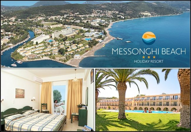 Messonghi Beach Hotel, Κέρκυρα