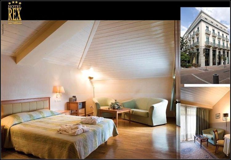 Διαμονή στην Καλαμάτα στο ιστορικό 4* Rex Hotel με 68€ ανά διανυκτέρευση με πρωινό σε δίκλινο δωμάτιο για 2 ενήλικες και 1 παιδί έως 9 ετών! Παρέχεται early check-in / late check-out! Η προσφορά ισχύει για διαμονή έως 31 Μαρτίου εικόνα
