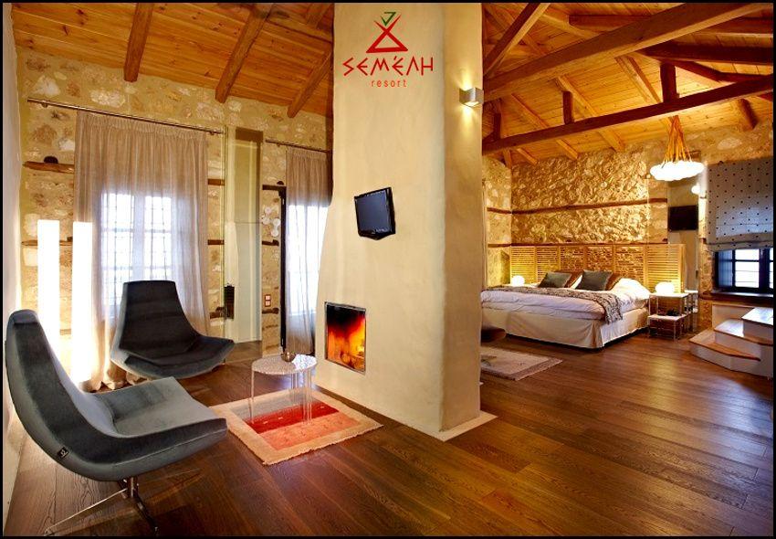 Διαμονή στο Ελατοχώρι στο Semeli Mountain Resort με 72€ ανά διανυκτέρευση με πρωινό σε δίκλινο δωμάτιο με τζάκι και ξύλα για 2 ενήλικες και 1 παιδί έως 4 ετών! Παρέχεται early check-in / late check-out κατόπιν διαθεσιμότητας! Η προσφορά ισχύει για διαμονή τα Σαββατοκύριακα: 4 έως 6 Νοεμβρίου, 11 έως 13 Νοεμβρίου, 2 έως 4 Δεκεμβρίου και 9 έως 11 Δεκεμβρίου! εικόνα