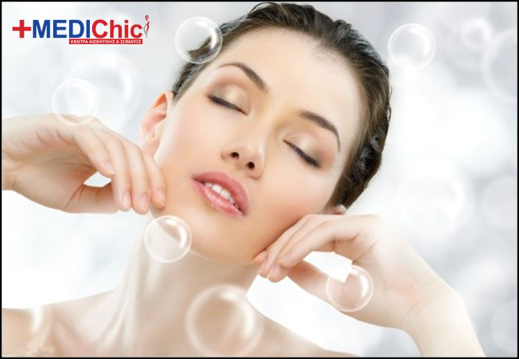 50€ για (4) θεραπείες προσώπου με φύλλα κολλαγόνου που θα χαρίσει βαθιά ενυδάτωση και λάμψη στο δέρμα σας χάρη στις εξαιρετικές ενυδατικές του ιδιότητες, (1) θεραπεία σύσφιξης προσώπου και (1) manicure (απλό ή γαλλικό), στον ειδικά διαμορφωμένο χώρο του Medichic στον Άγιο Δημήτριο, πλησίον Μετρό, αξίας 220€ - έκπτωση 76% εικόνα