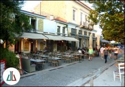 Cafe - Μεζεδοπωλείο Δίαυλος, Θησείο