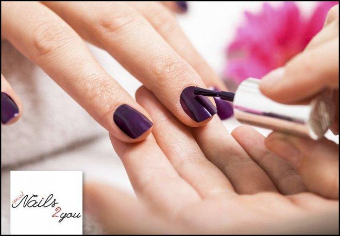 """9€ για 1 ημιμόνιμο manicure (απλό ή γαλλικό) και nail art διακόσμηση, από το """"Nails 2 You"""" στο κέντρο του Περιστερίου"""