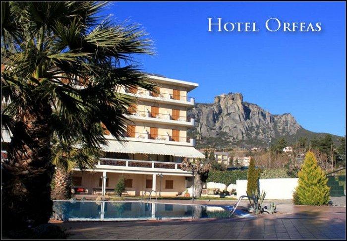 Προσφορά από 50€ ανά διανυκτέρευση με πρωινό για 2 ενήλικες και 1 παιδί έως 3 ετών στο Orfeas Hotel εικόνα
