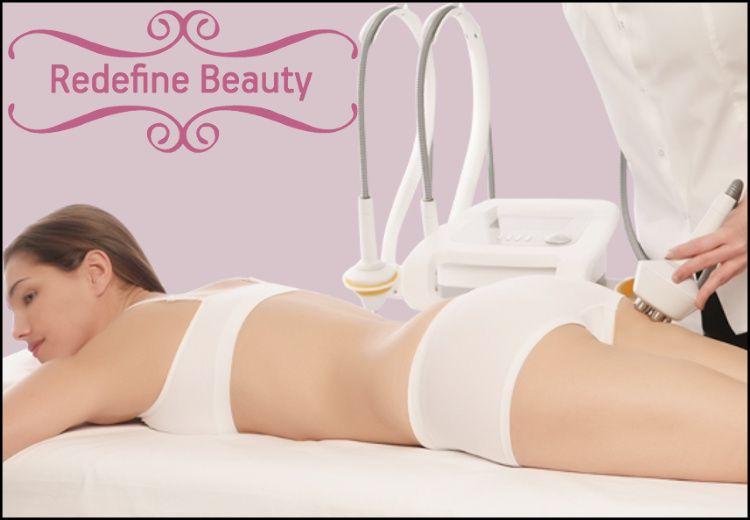 """149€ για 5 συνεδρίες που περιλαμβάνουν (2) ενέσιμες μεσοθεραπείες σώματος για λιποδιάλυση και κυτταρίτιδα, (2) θεραπείες με μηχανήματα detox για λεμφική αποσυμφόρηση και (1) θεραπεία για μυϊκή ενδυνάμωση και σύσφιξη, από το εξειδικευμένο προσωπικό του """"Redefine Beauty"""" στο Μαρούσι, αξίας 400€ - έκπτωση 63%"""