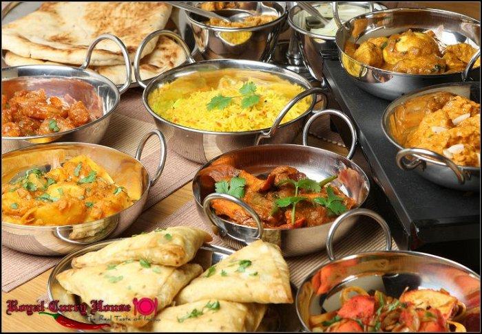 """11€ για ένα γεύμα ή δείπνο για 2 άτομα με ελεύθερη επιλογή από τον κατάλογο φαγητού στο Ινδικό εστιατόριο """"Royal Curry House"""" στην Ομόνοια"""