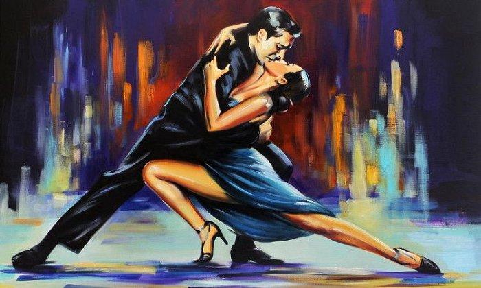 10€ για 1 μήνα με 4 μαθήματα (6 ώρες) Αργεντίνικου Tango από το Tango Sentimental στον χώρο του εργαστηρίου χορού Danzarin